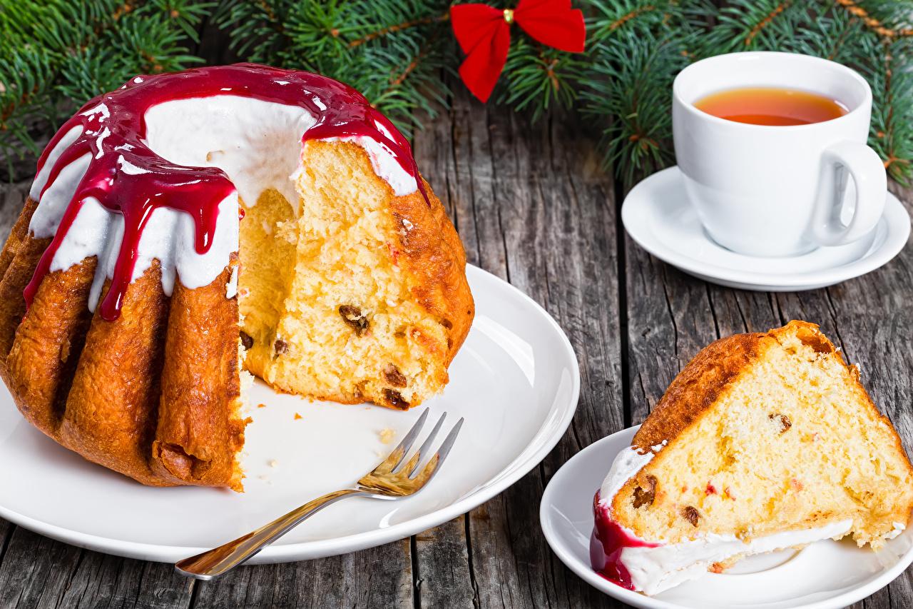 Обои для рабочего стола Рождество Чай джем Кекс Кусок Еда Чашка Выпечка Новый год Варенье Повидло часть кусочки кусочек Пища чашке Продукты питания
