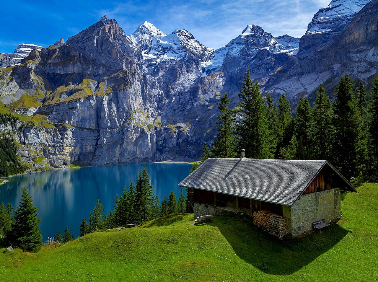 Обои дома, швейцария. Пейзажи foto 10