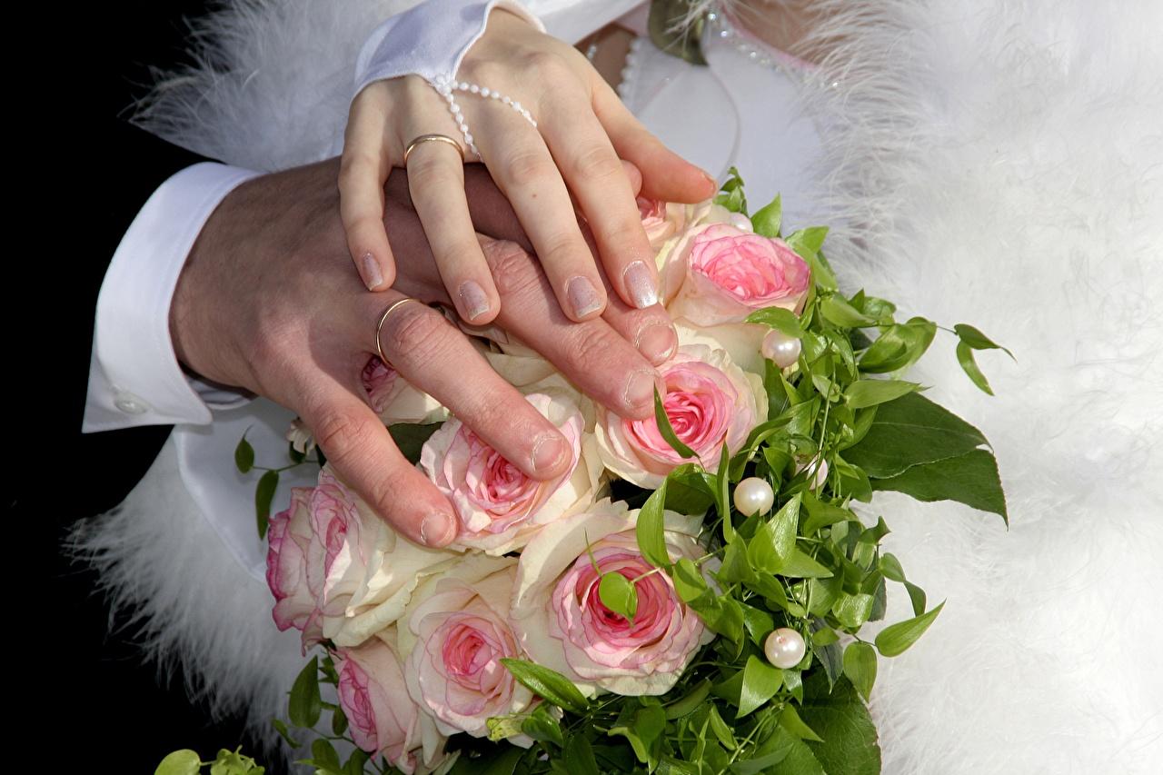 Картинки Свадьба Маникюр Букеты Кольцо Руки Пальцы
