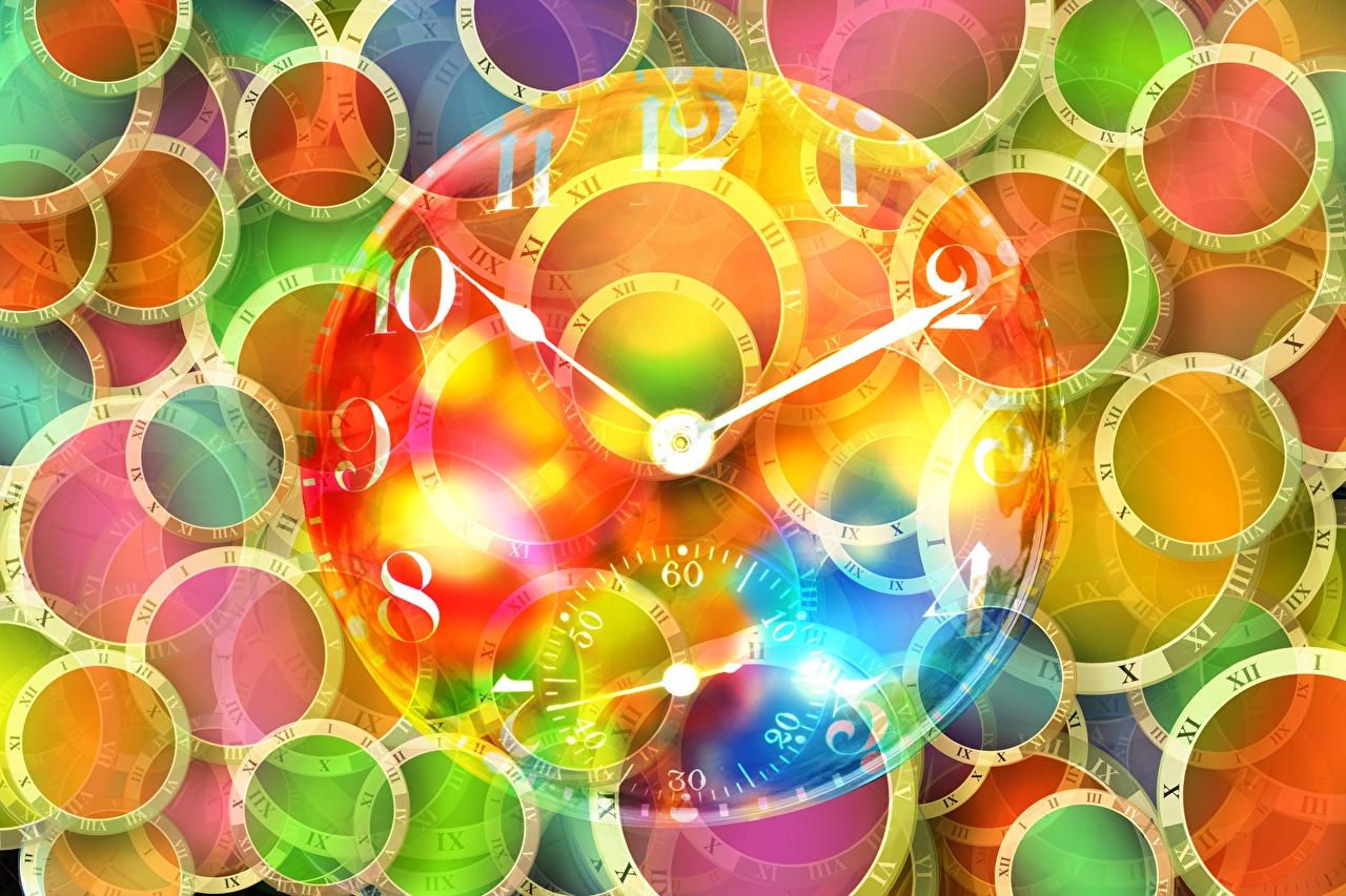 Фотография окружность Часы Циферблат круг Круги