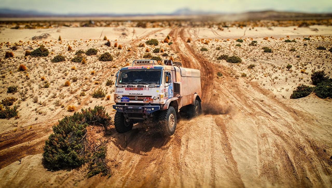 Картинки КАМАЗ Ралли 507 Машины KAMAZ гонки Авто Автомобили