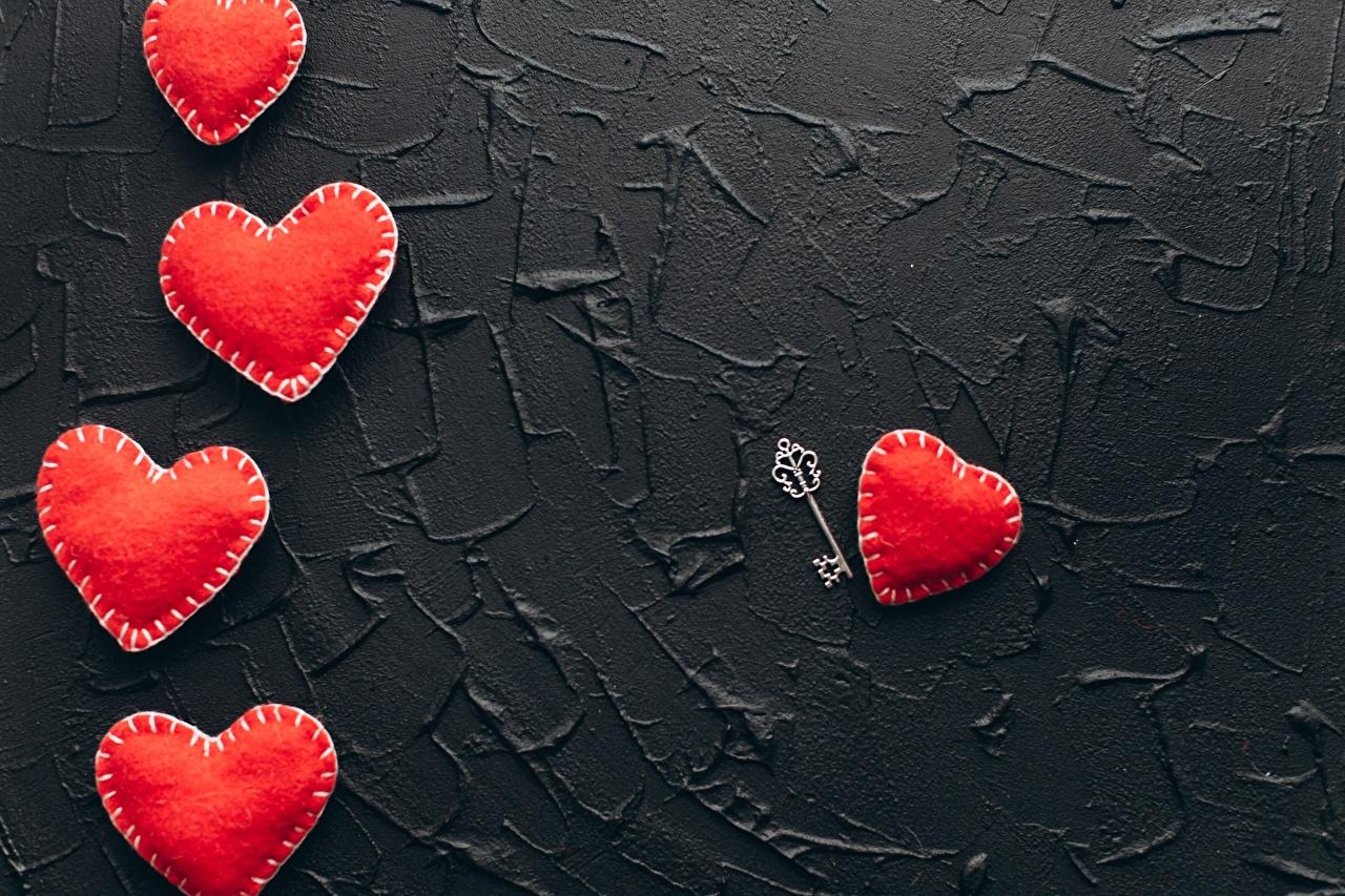 Картинки День святого Валентина сердечко Красный Замковый ключ День всех влюблённых Сердце