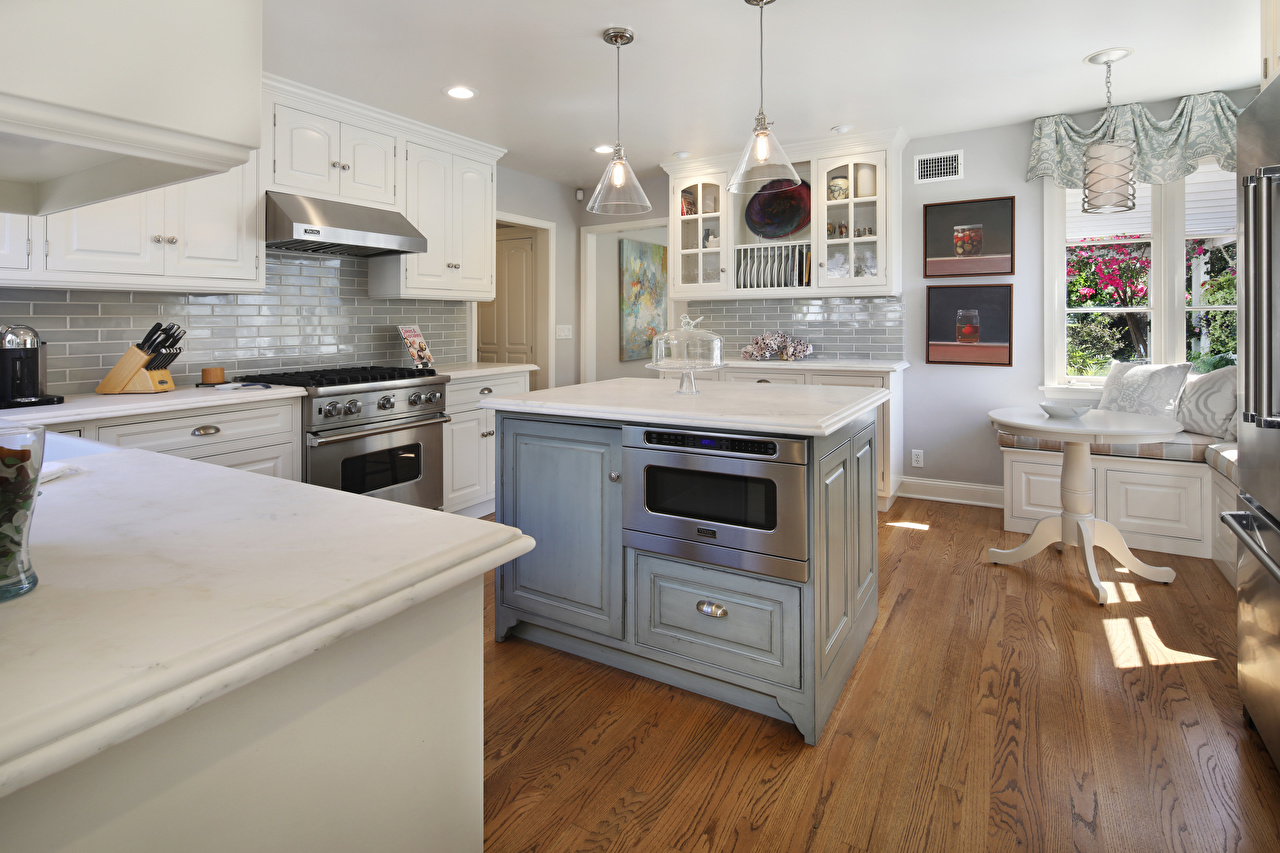 Фото Кухня Интерьер столы Дизайн кухни Стол стола дизайна