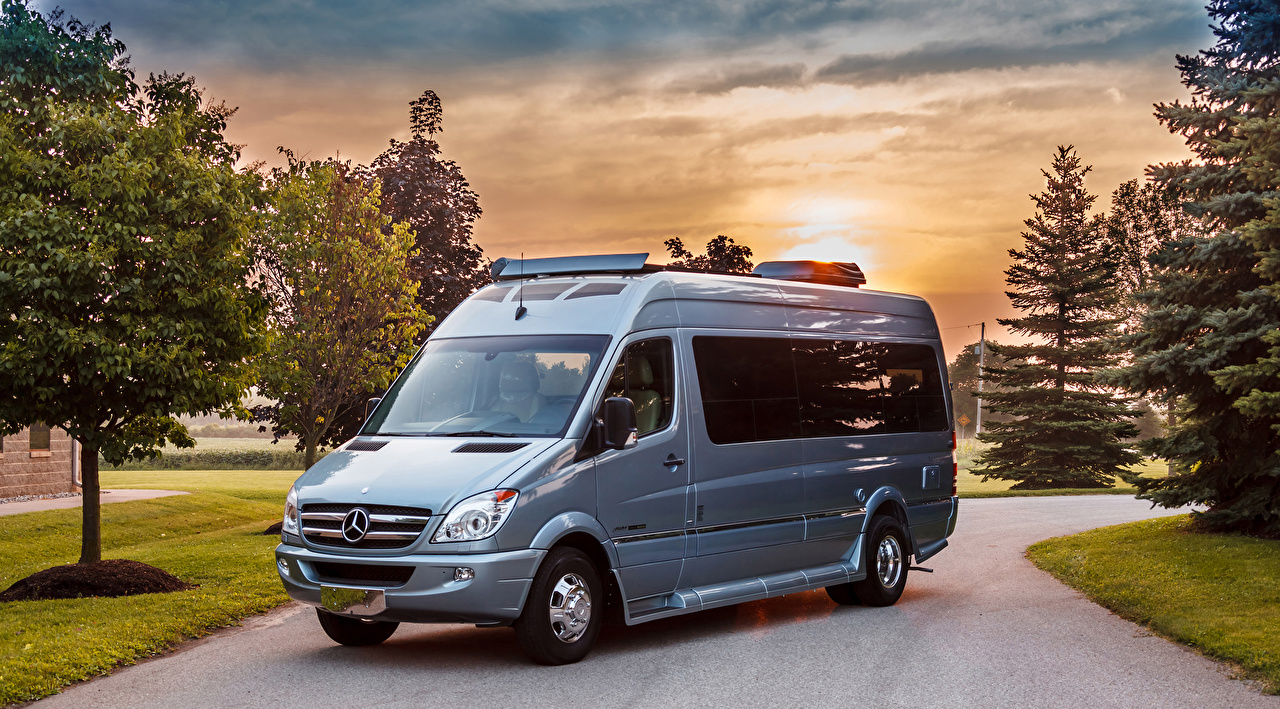 Фотография Мерседес бенц 2014 Roadtrek CS Adventurous Авто Mercedes-Benz Машины Автомобили
