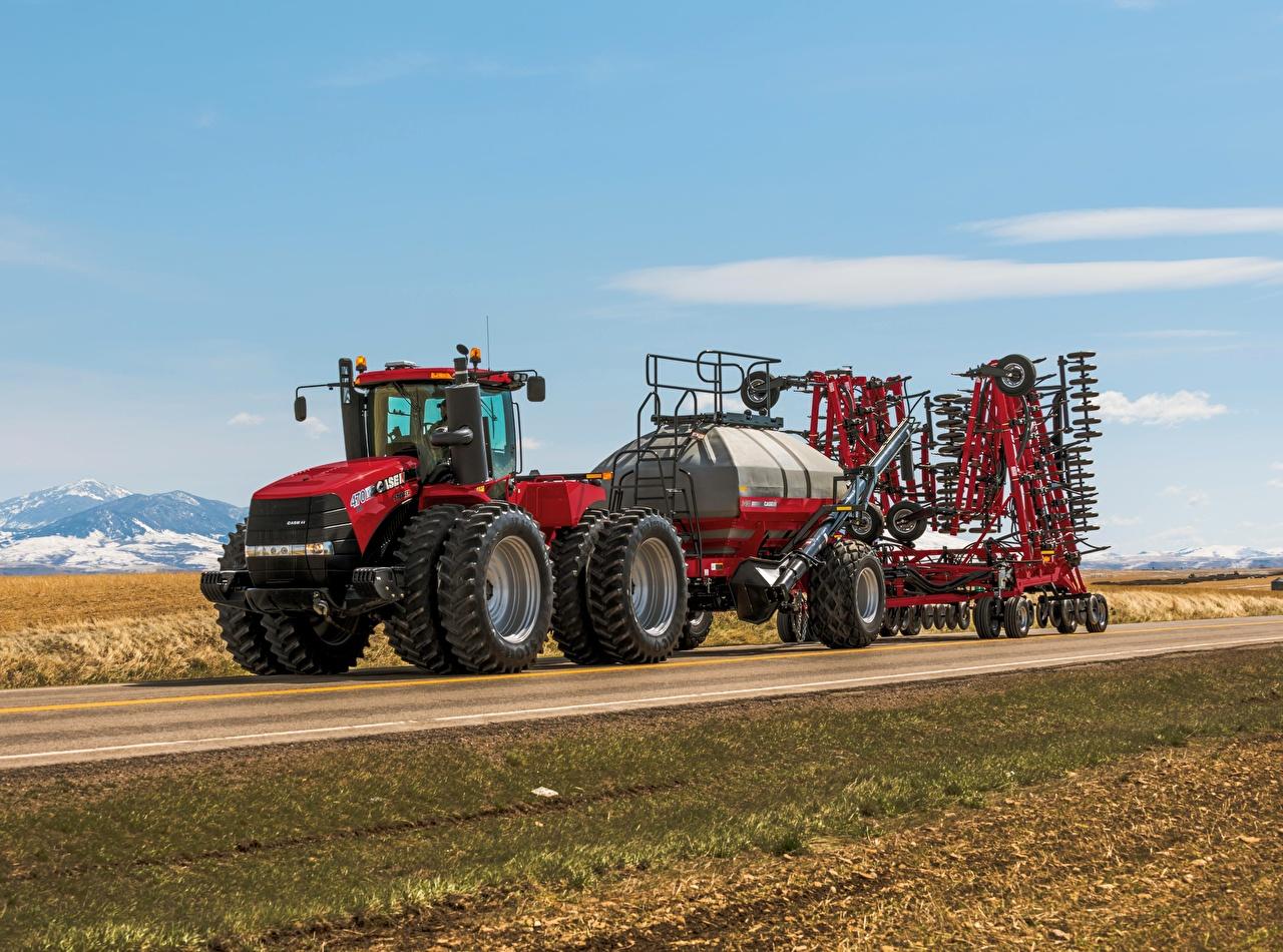 Картинки Трактор 2013-17 Case IH Steiger 470 HD Дороги