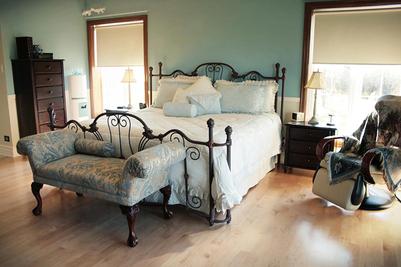 Обои для рабочего стола спальни Интерьер Кровать Подушки Дизайн Спальня спальне постель кровати подушка дизайна