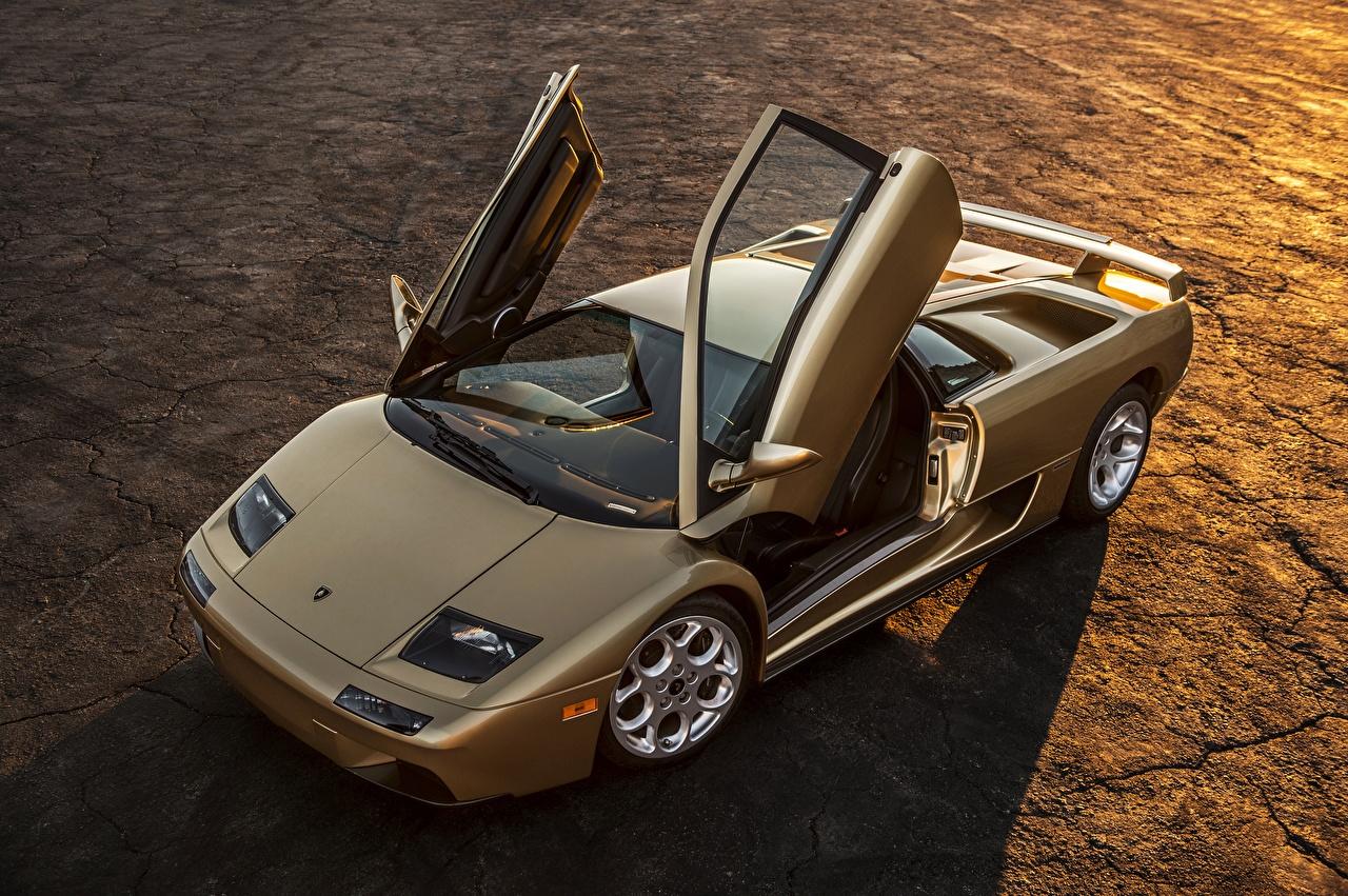 Фотографии Ламборгини Diablo Автомобили Lamborghini Авто Машины