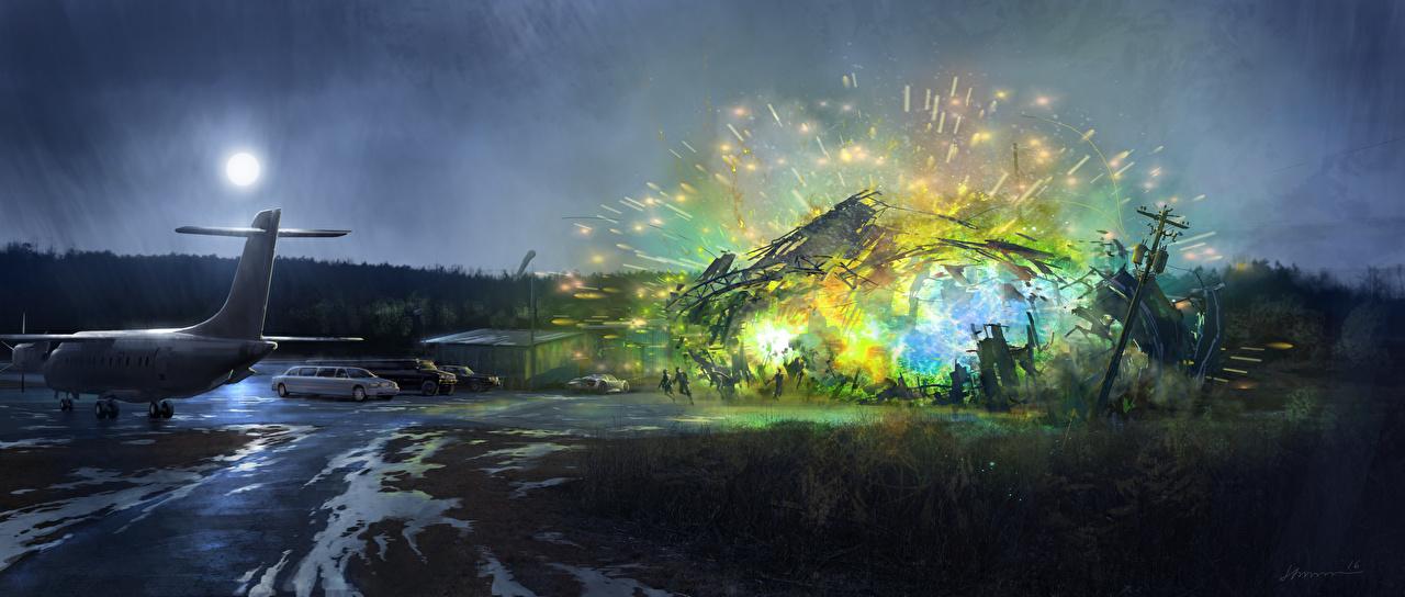 Фото Человек-паук: Возвращение домой Взрывы Фильмы Ночь кино ночью в ночи Ночные