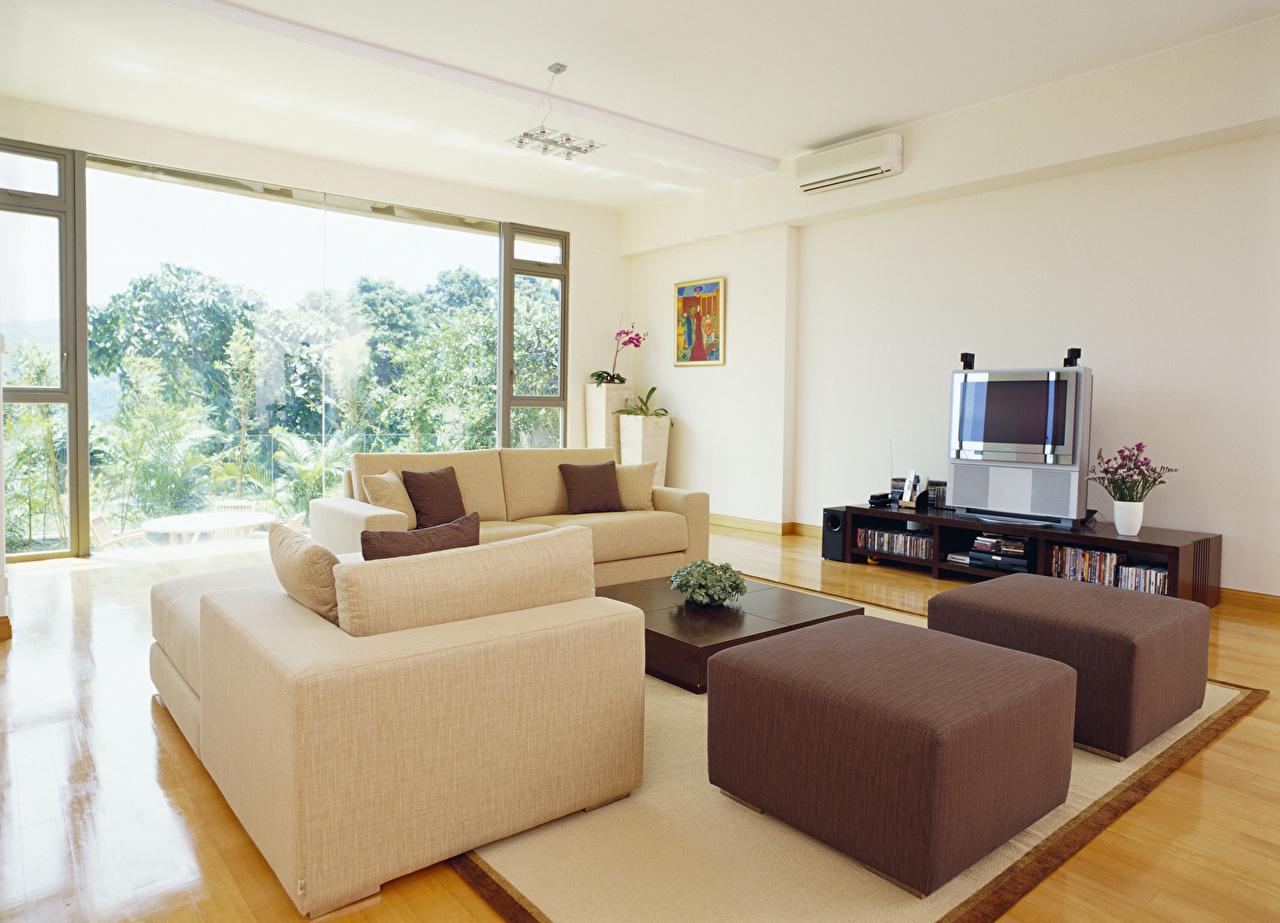 Обои для рабочего стола гостевая Интерьер Диван Дизайн Гостиная диване дизайна