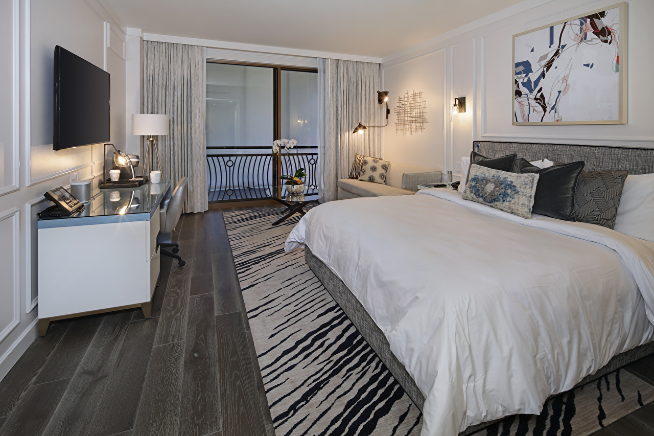 Фото Спальня Интерьер кровати подушка Дизайн спальни спальне постель Кровать Подушки дизайна