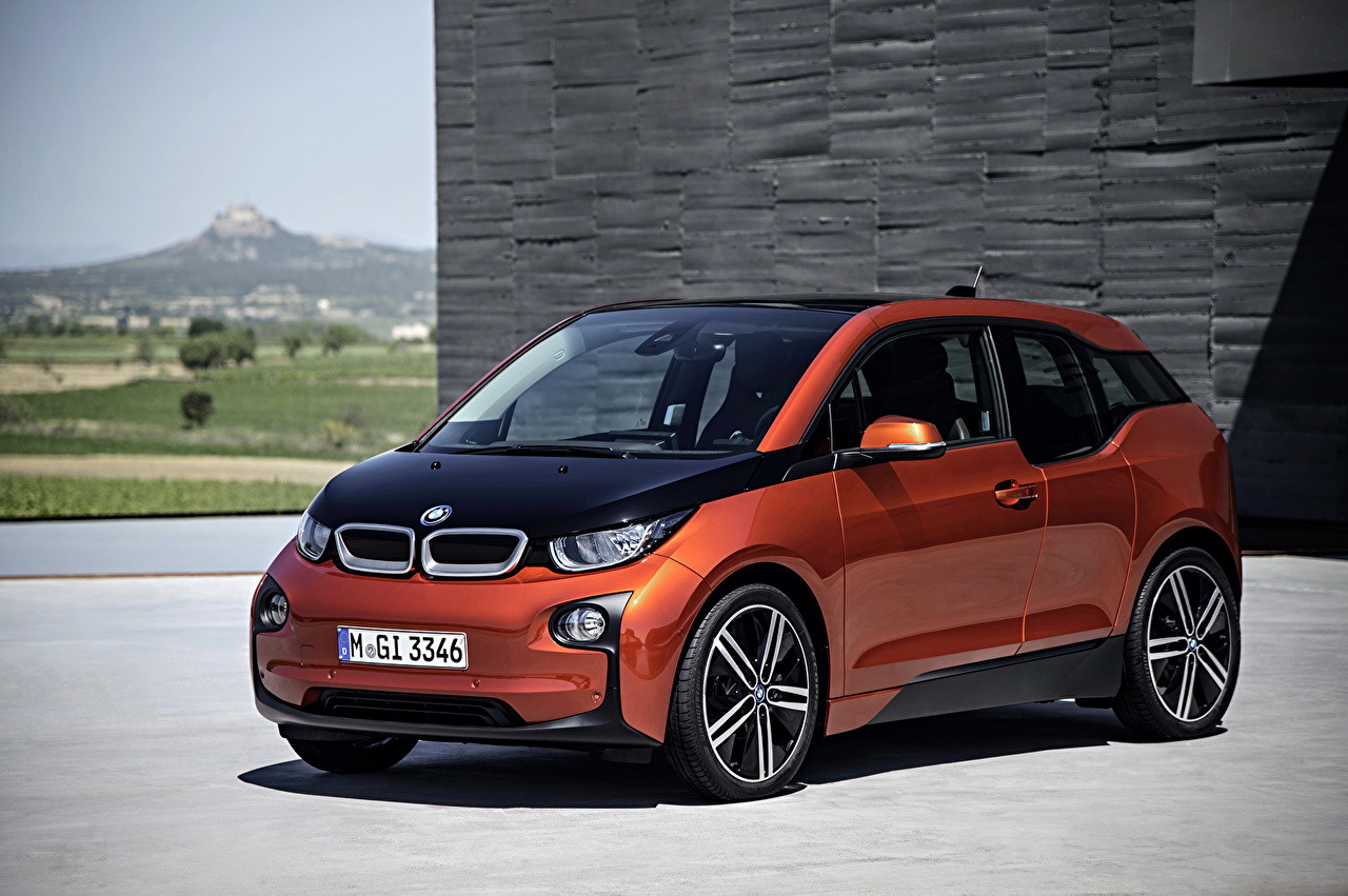 Обои для рабочего стола БМВ Тюнинг 2013 i3 Автомобили BMW Стайлинг авто машины машина автомобиль
