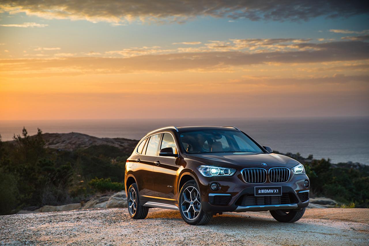 Фотография BMW 2016 X1 xDrive25Li xLine Коричневый Автомобили БМВ коричневые коричневая авто машины машина автомобиль