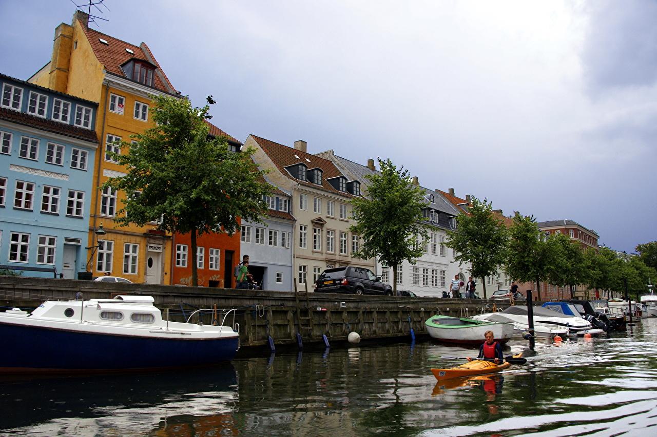 Copenhagen Harbor, Denmark бесплатно
