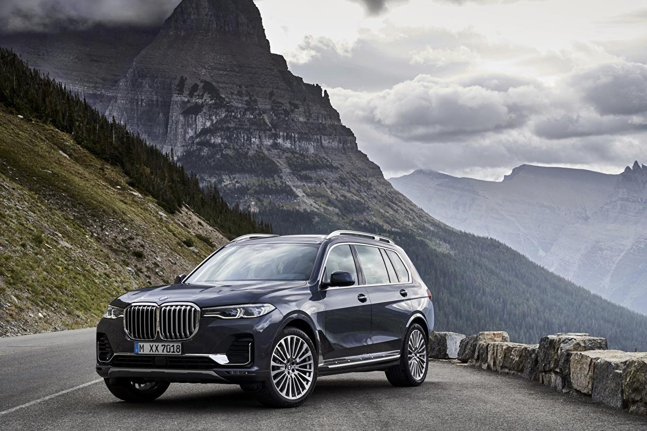 Фотография БМВ Кроссовер 2019 X7 G07 Металлик Автомобили BMW CUV авто машины машина автомобиль