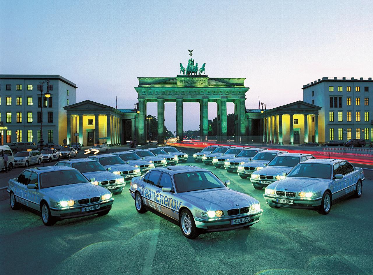 Фотография BMW 2000 750hL CleanEnergy Concept машина Много БМВ авто машины автомобиль Автомобили