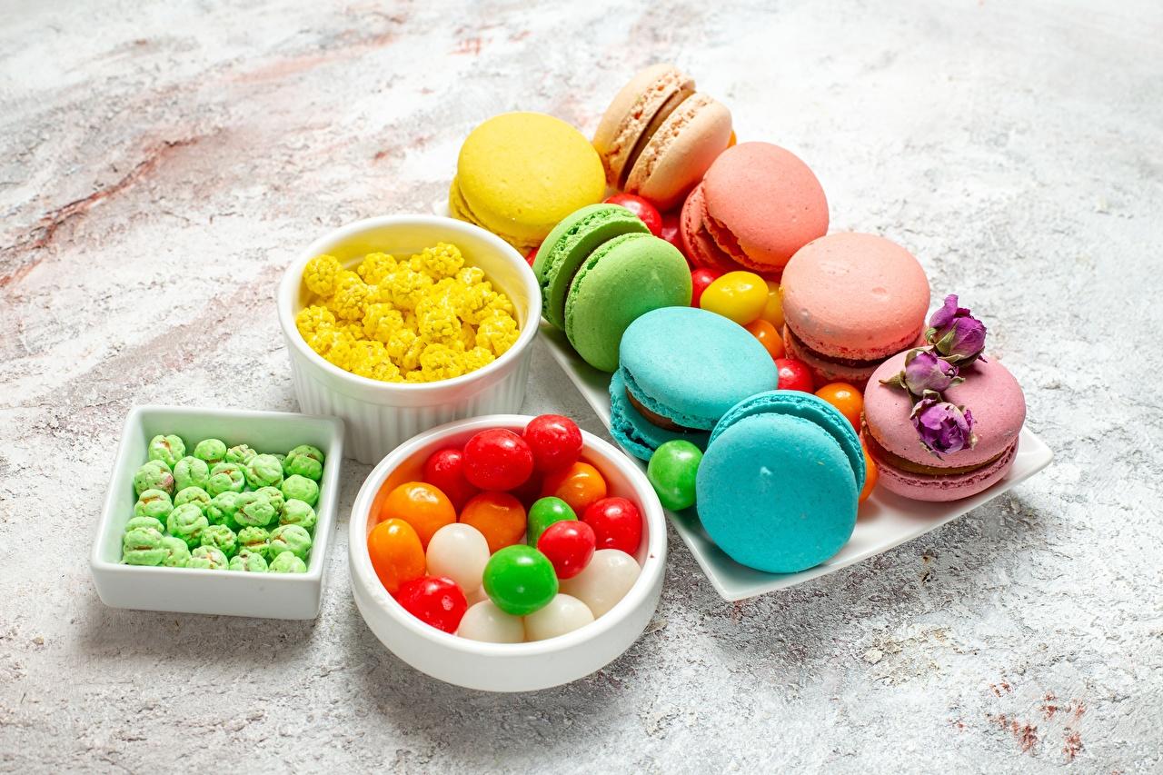 Фото Макарон Драже Еда Печенье сладкая еда Пища Продукты питания Сладости