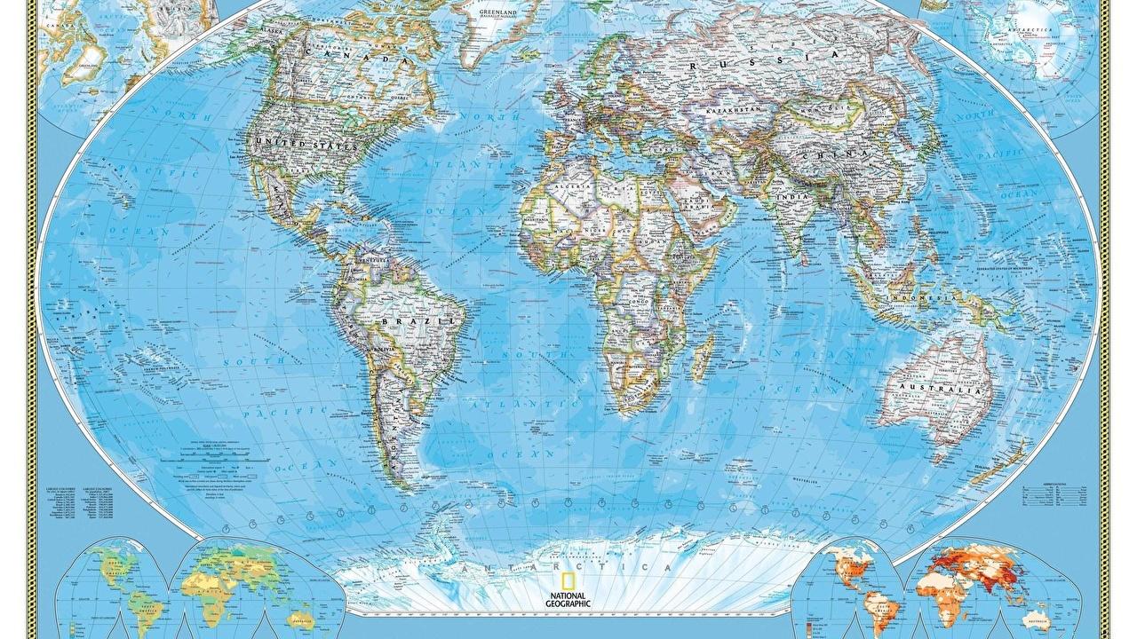 Фотографии Географическая карта География