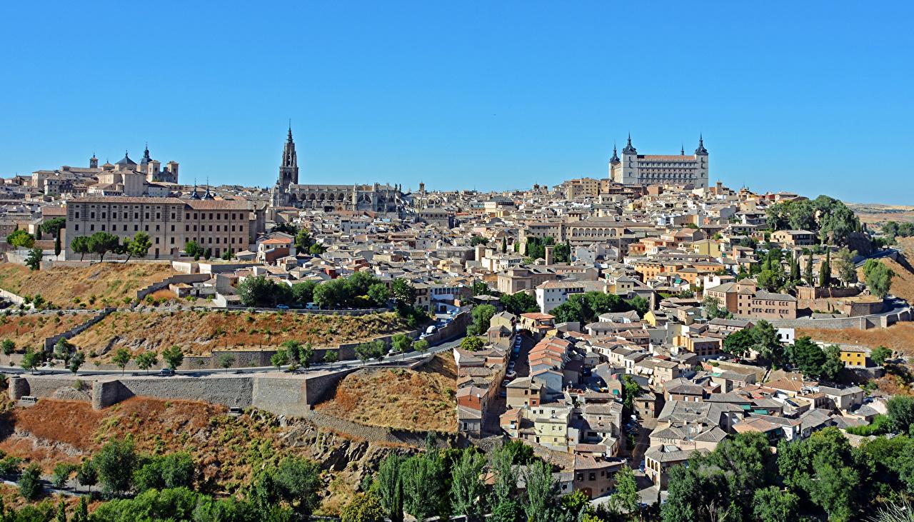 Фотографии Толедо Испания Города Здания Дома