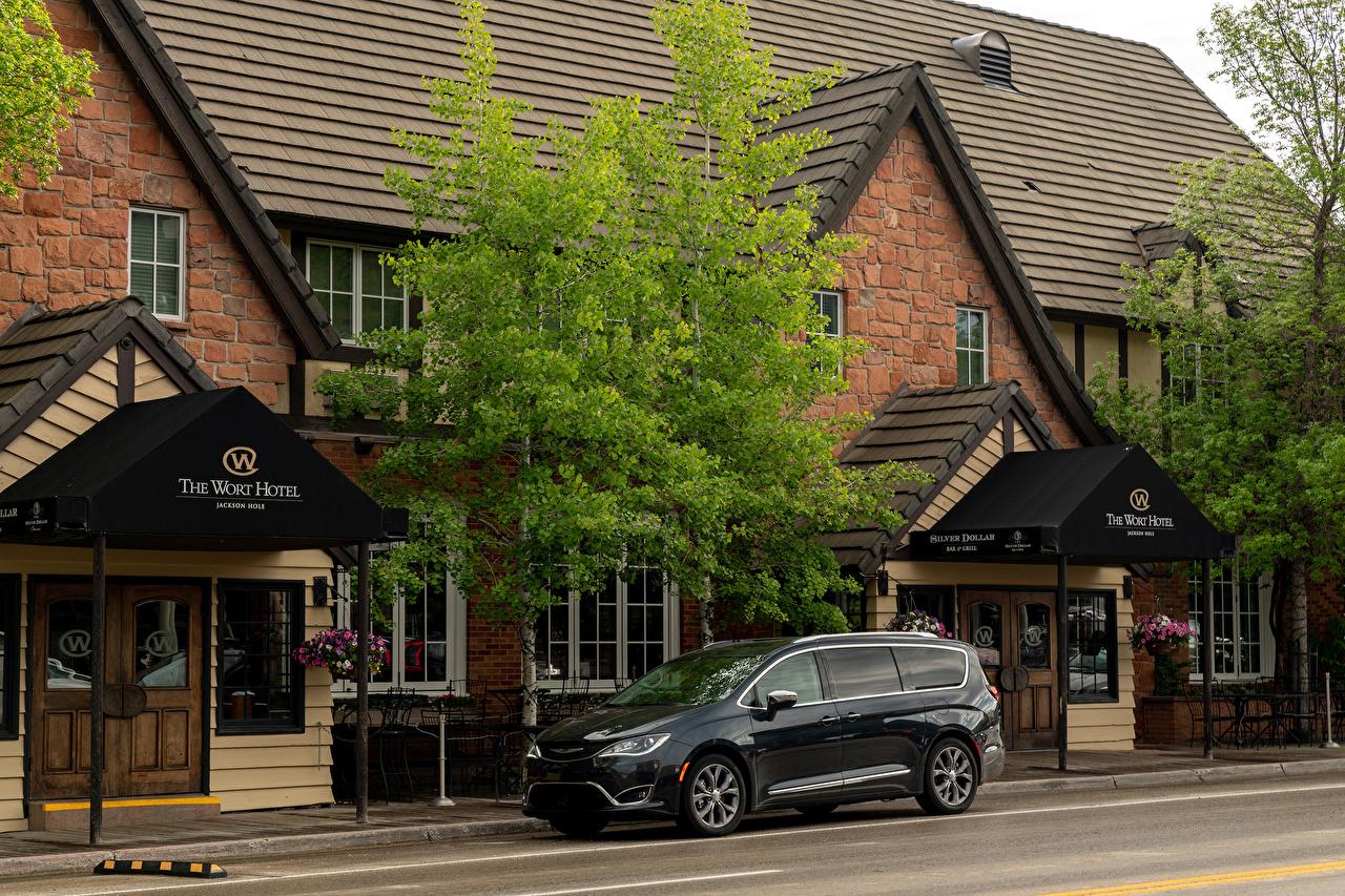 Обои для рабочего стола Chrysler 2017–19 Pacifica Limited машина Металлик Крайслер авто машины автомобиль Автомобили