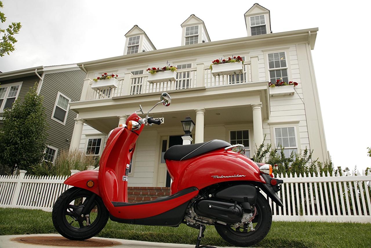 Картинки Скутер мотоцикл Мотороллер Мотоциклы