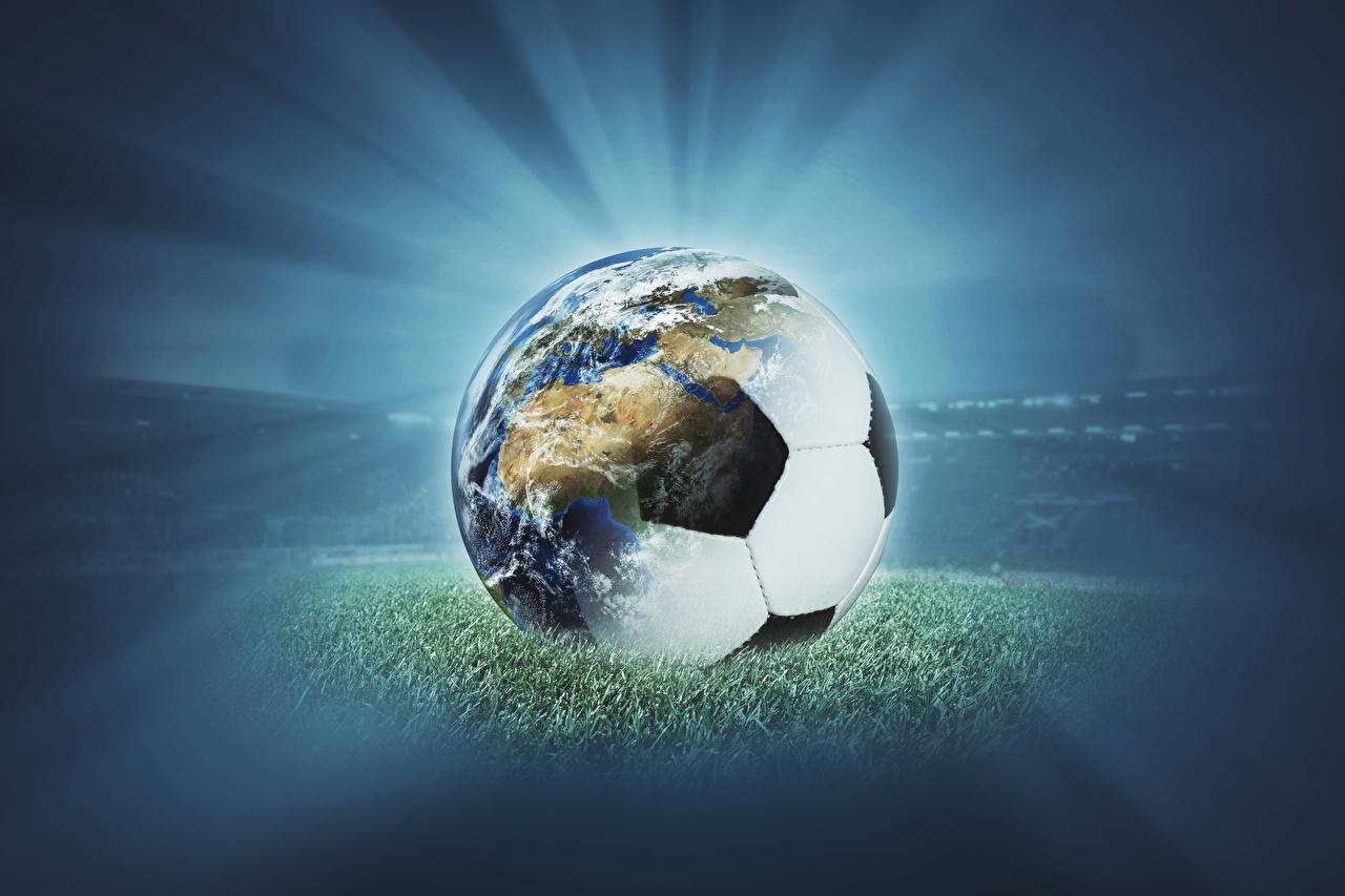 Картинки земли Футбол спортивная Мячик Земля Спорт спортивный спортивные Мяч