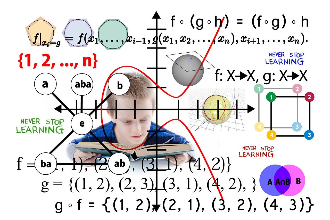 Картинка Школа formulas книги белым фоном школьные Книга Белый фон белом фоне