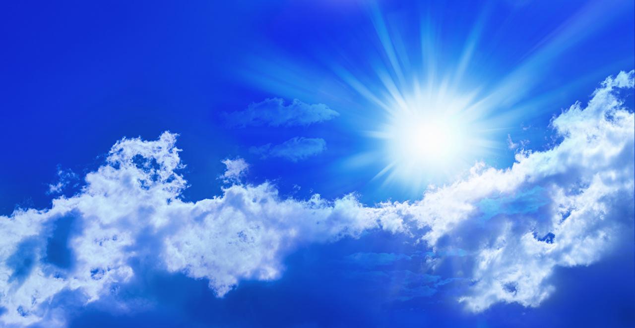 Картинки солнца Природа Небо Облака Солнце облако облачно