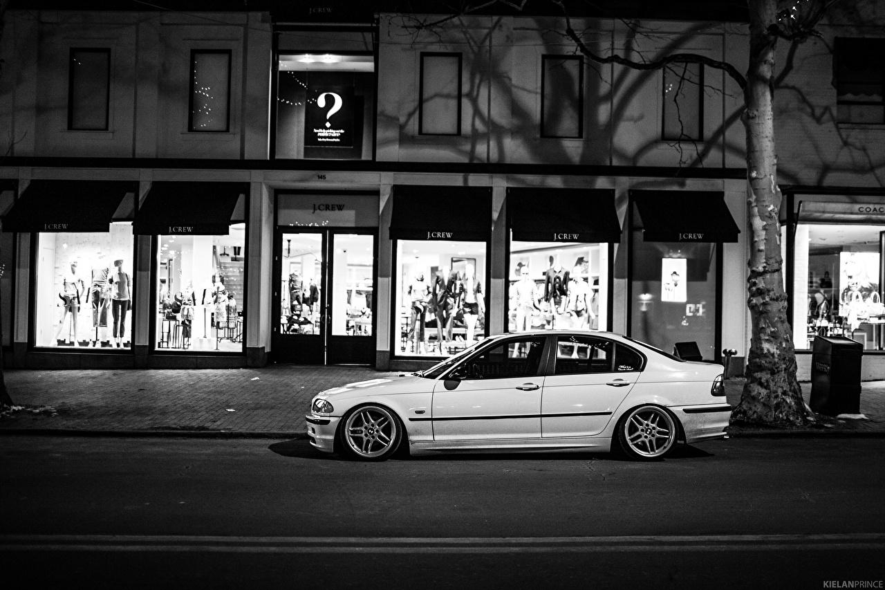 Фотография БМВ e46 323i Улица Сбоку Автомобили BMW улиц улице авто машины машина автомобиль