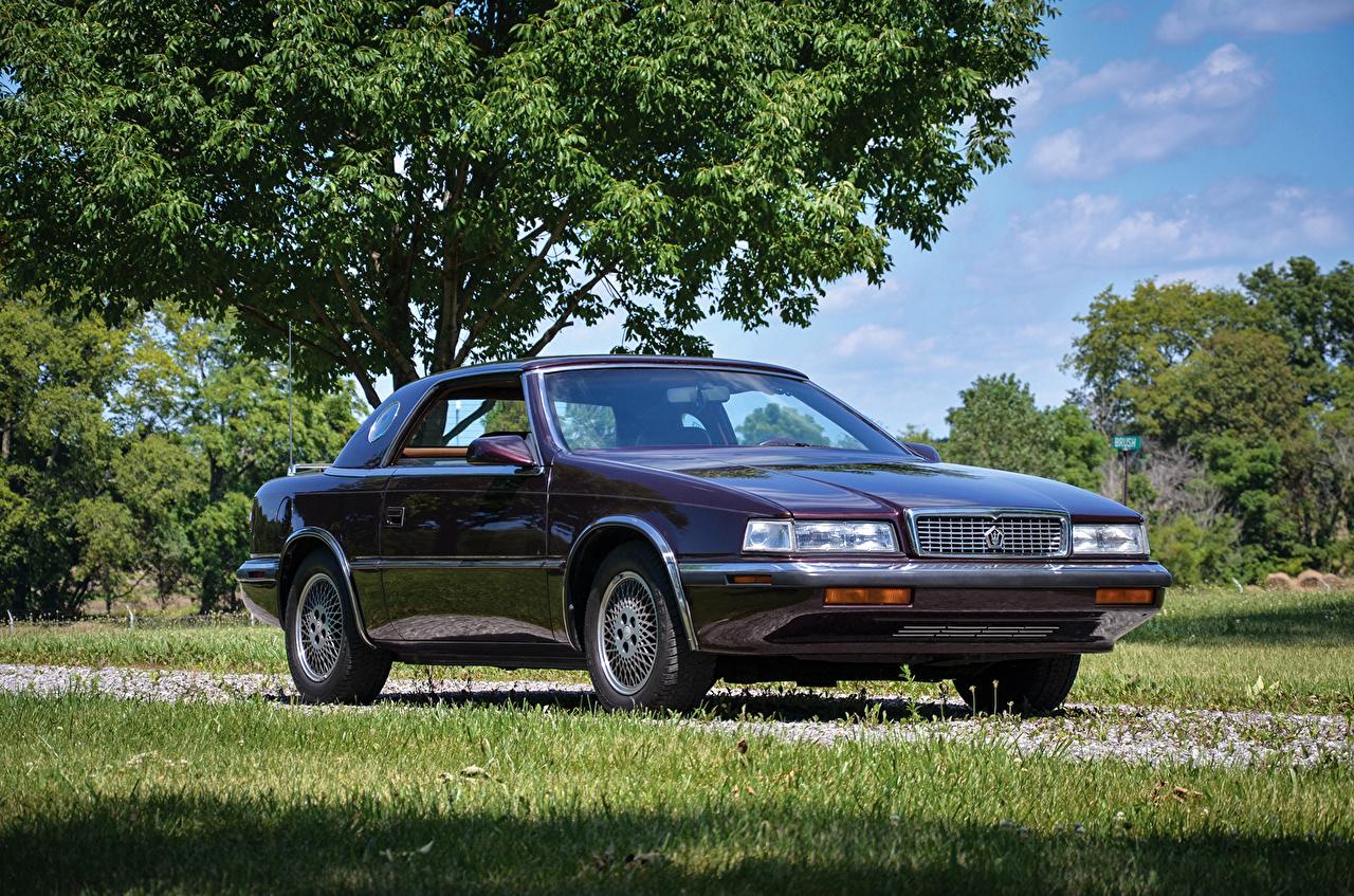Фотографии 1989-91 Chrysler TC by Maserati Ретро Автомобили Крайслер Винтаж старинные авто машина машины автомобиль