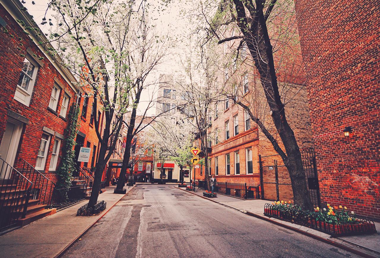 Обои Город, улица, Нью Йорк. Города foto 18