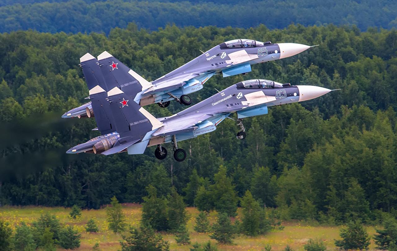Američko veleposlanstvo : SAD želi da Hrvatska modernizira zrakoplovne snage - Page 6 Fighter_Airplane_Sukhoi_Su-30_SM_Russian_Two_534492_1280x808