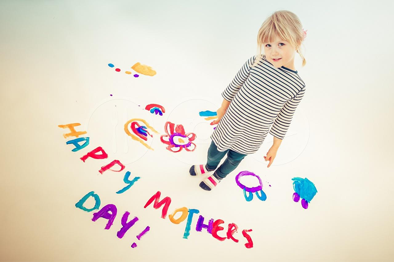 Фотография блондинки День матери английская ребёнок текст Блондинка блондинок Английский инглийские Дети слова Слово - Надпись