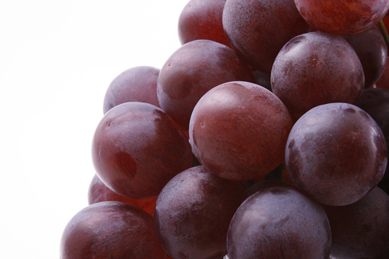 Фотографии Виноград Еда Ягоды вблизи Пища Продукты питания Крупным планом