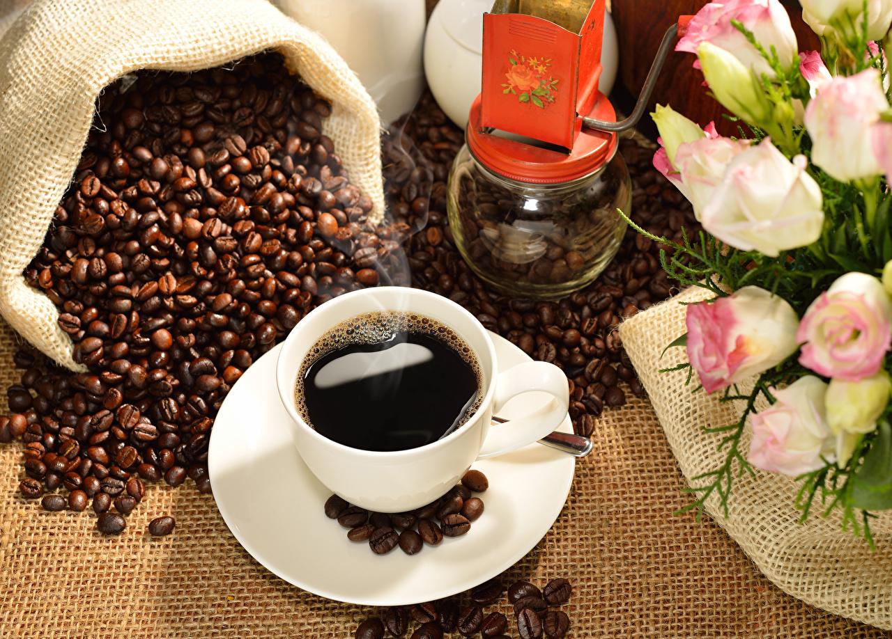 Фото Кофе Зерна Еда Чашка Пища Продукты питания
