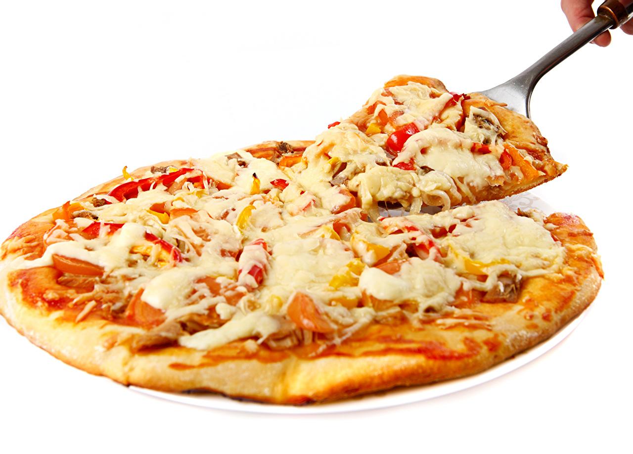 Картинка Еда Пицца Быстрое питание Сыры Пища Продукты питания Фастфуд