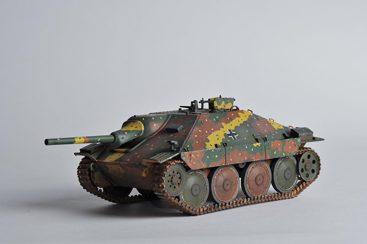 Обои для рабочего стола Самоходка Hetzer Jagdpanzer 38 Игрушки Армия САУ игрушка военные