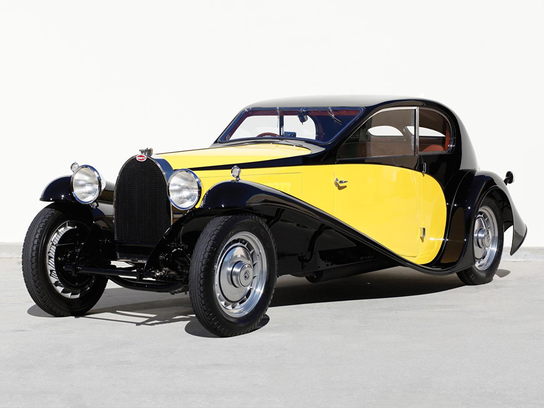 Фото BUGATTI 1930 Type 46 Superprofile Ретро машина винтаж старинные авто машины автомобиль Автомобили
