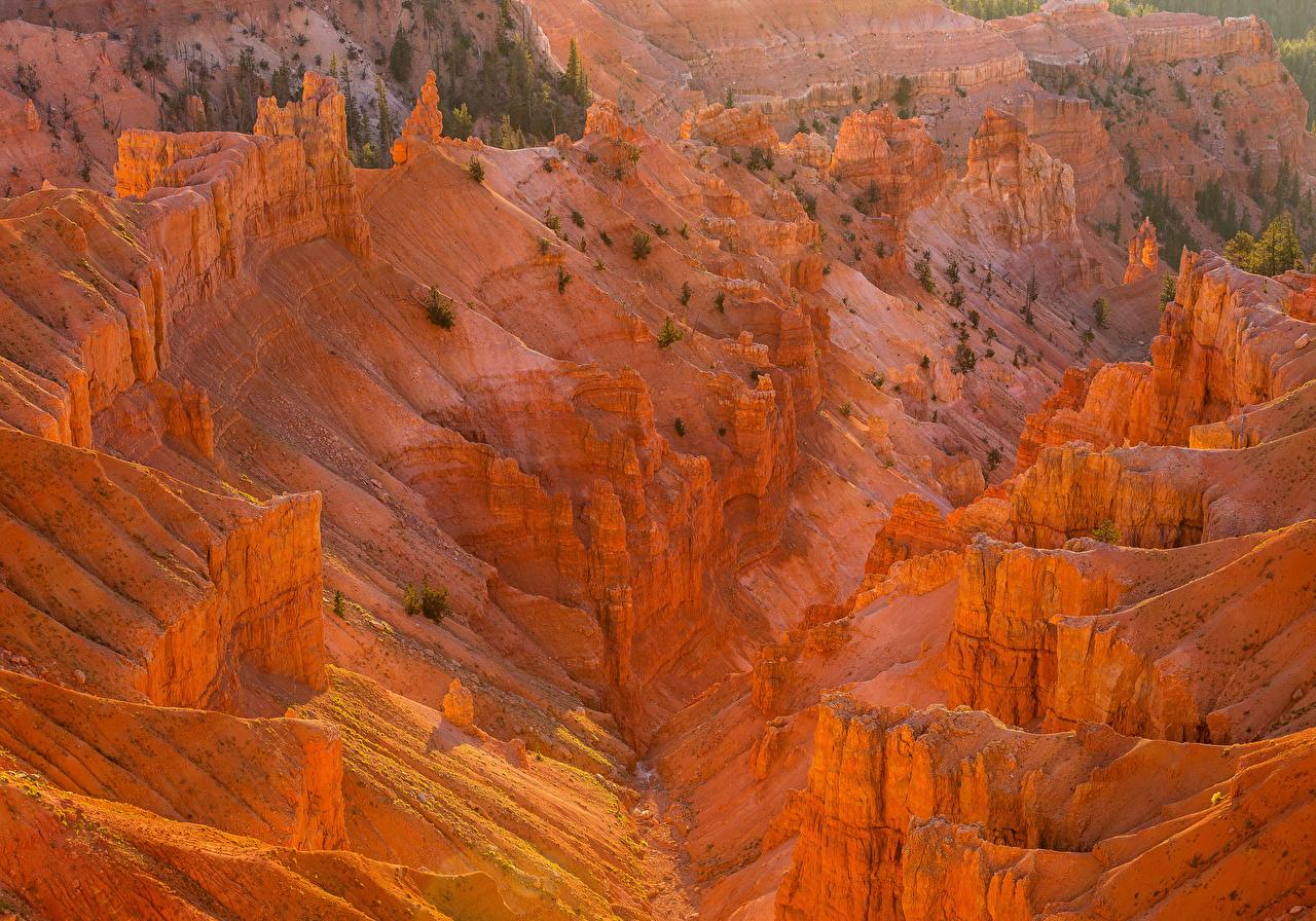 Картинка штаты Cedar Breaks National Monument Горы Природа Парки США