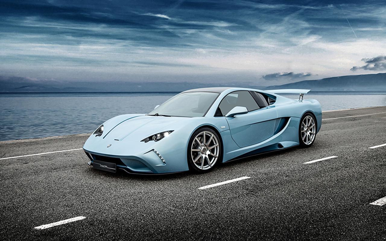 Картинка 2015 Vencer Sarthe голубых автомобиль Голубой голубые голубая авто машина машины Автомобили