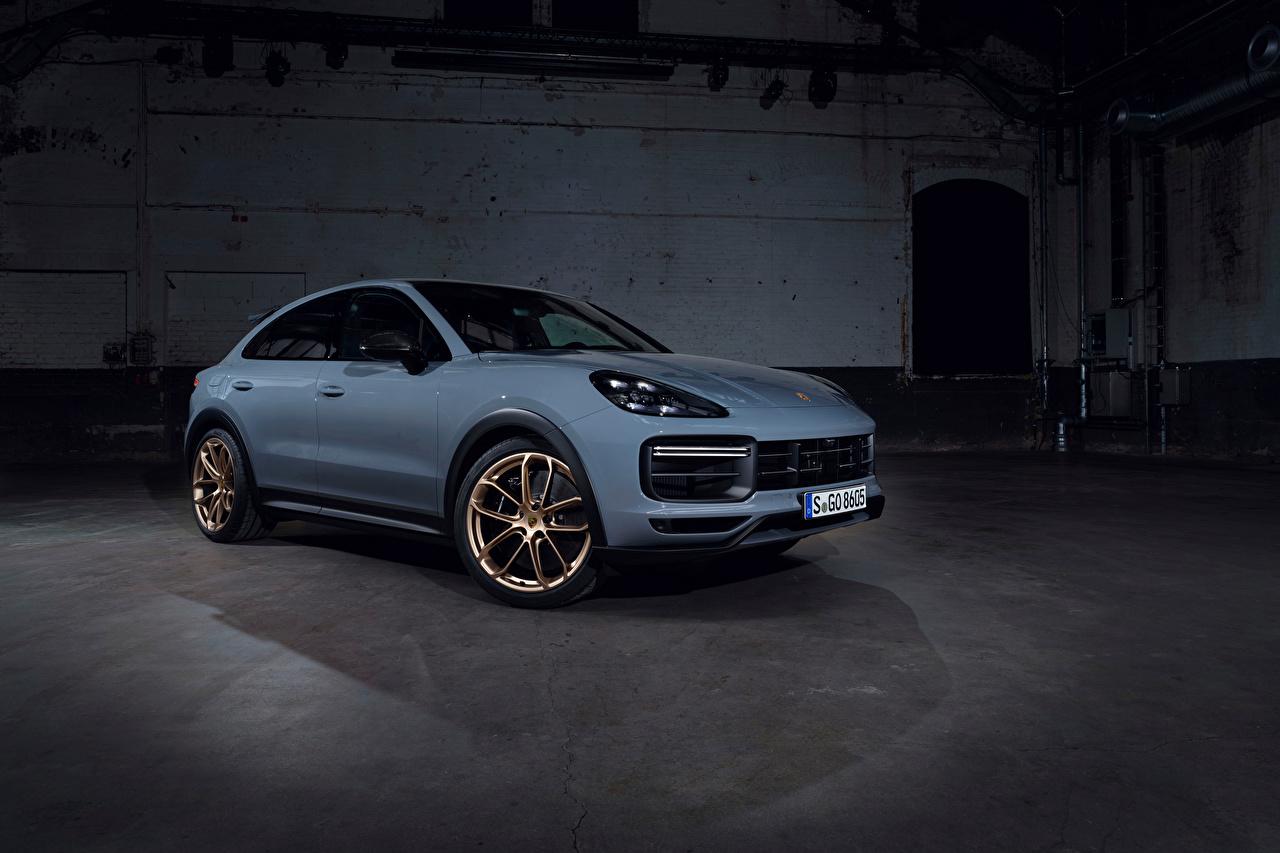 Обои для рабочего стола Porsche Cayenne Turbo GT, (Worldwide), 2021 машина Металлик Порше авто машины Автомобили автомобиль