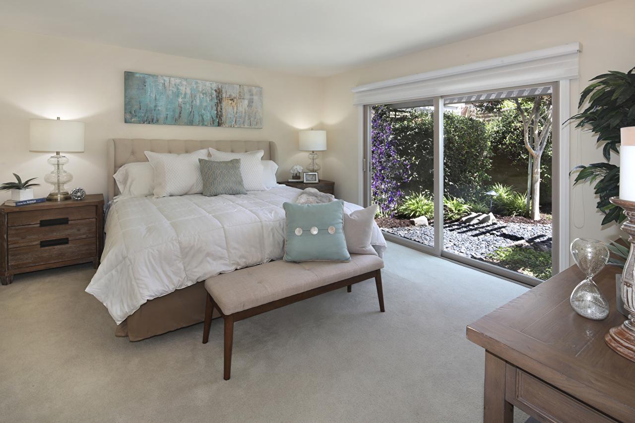 Фотографии спальне Интерьер кровате Подушки Дизайн спальни Спальня Кровать кровати подушка дизайна