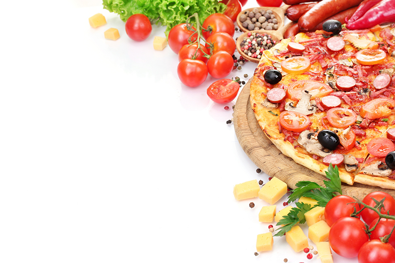 Картинки Пицца Еда Пища Продукты питания