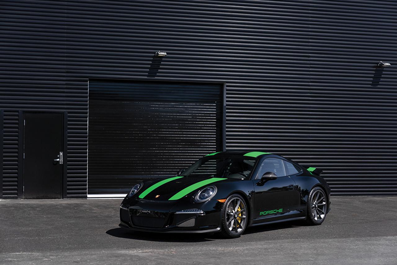Фото Porsche Стайлинг 2016 911 R Черный Металлик Автомобили Порше Тюнинг Авто Машины