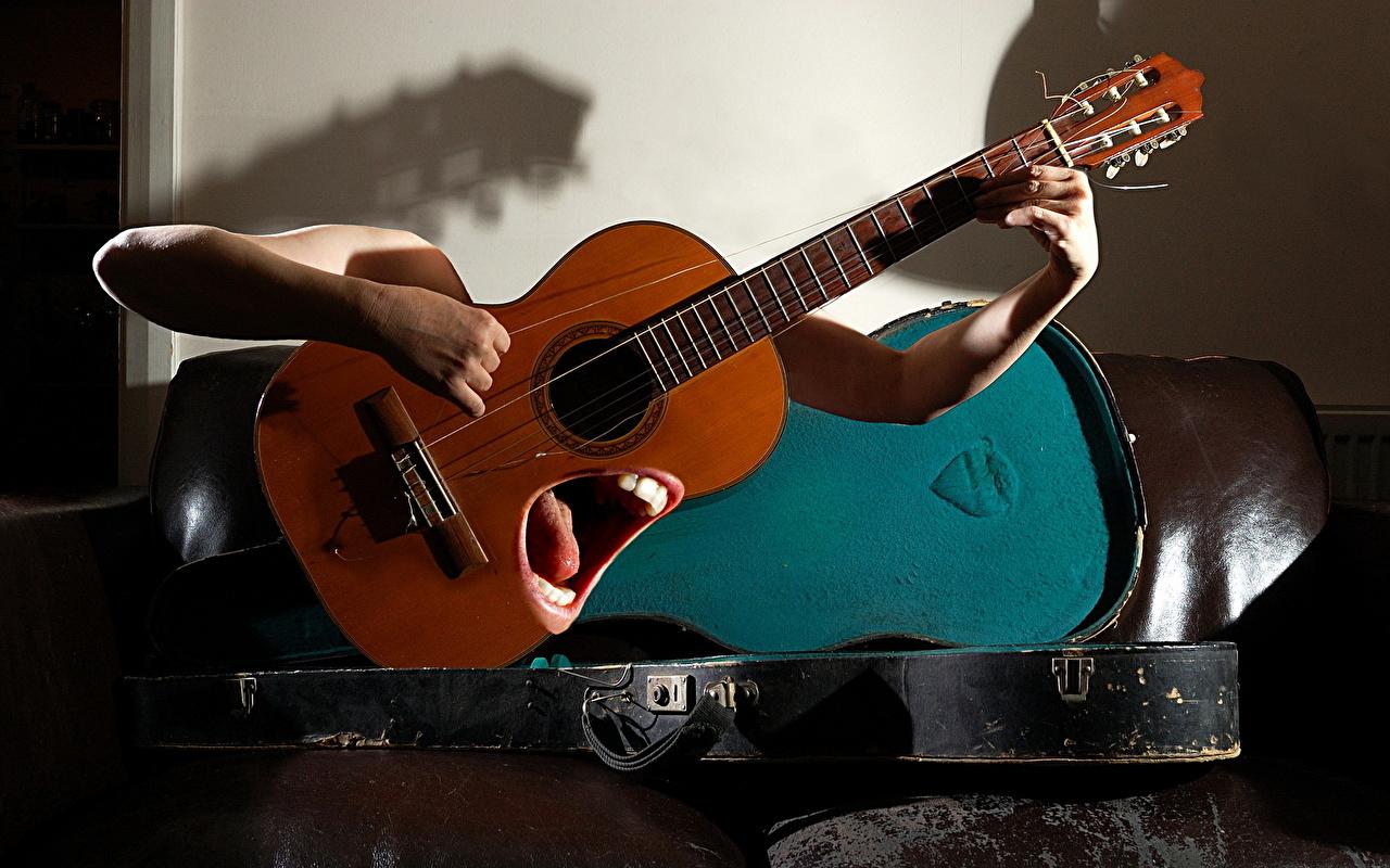 Поставить мою фотку на фото с гитарой