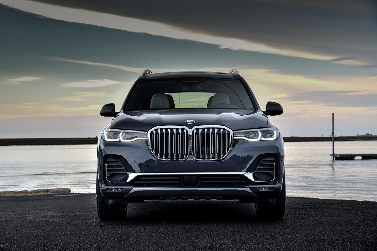 Фотографии BMW Кроссовер X7, G07 Спереди Металлик Автомобили БМВ CUV авто машины машина автомобиль