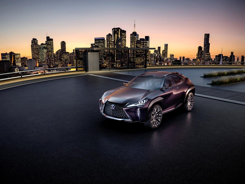 Картинка Lexus 2016 UX автомобиль Лексус авто машина машины Автомобили