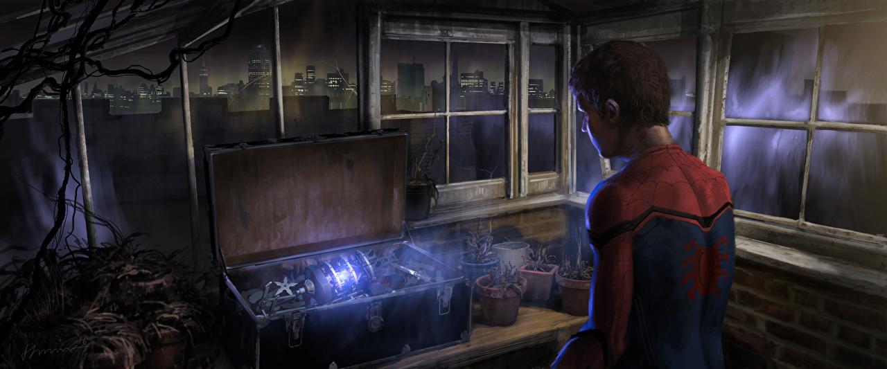 Фотография Человек-паук: Возвращение домой супергерои Человек паук герой Tom Holland Фильмы Герои комиксов кино