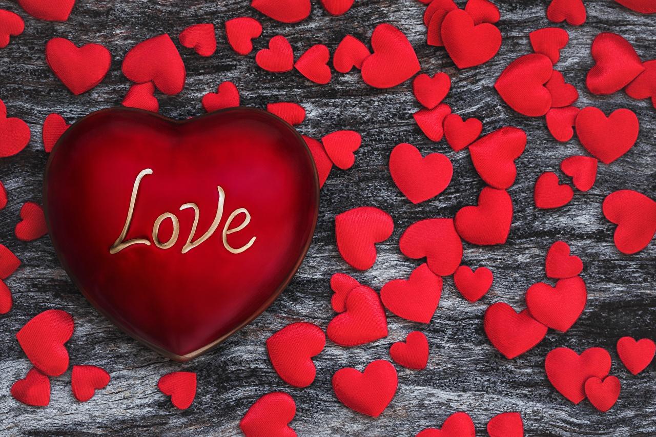 Обои для рабочего стола День всех влюблённых Английский Сердце love красная Слово - Надпись День святого Валентина английская инглийские серце сердца сердечко Красный красные красных слова текст