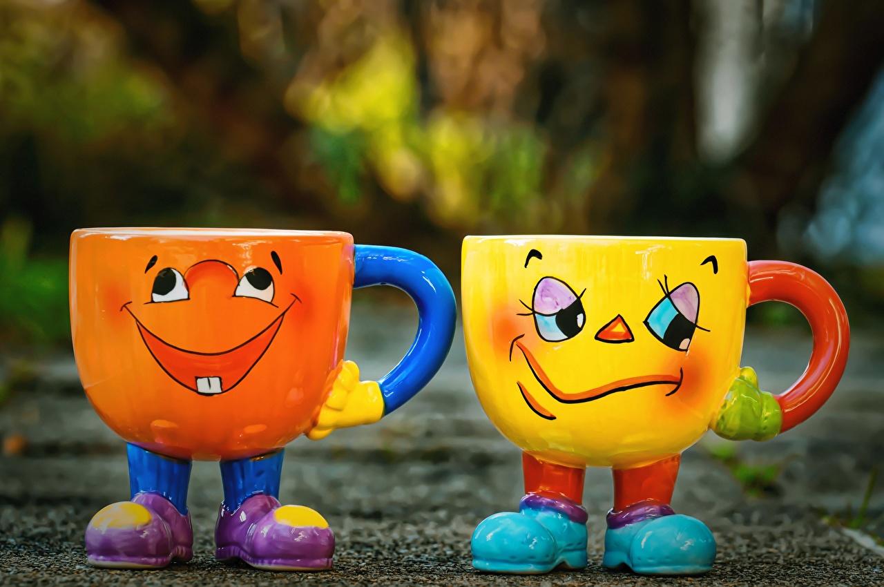Обои для рабочего стола Юмор радостная Грусть смешной Двое Кружка Смешные Радость счастье радостный счастливые счастливая счастливый Тоска Печаль Грустный грустная печальный печальная Смешные смешная забавные 2 два две вдвоем кружке кружки