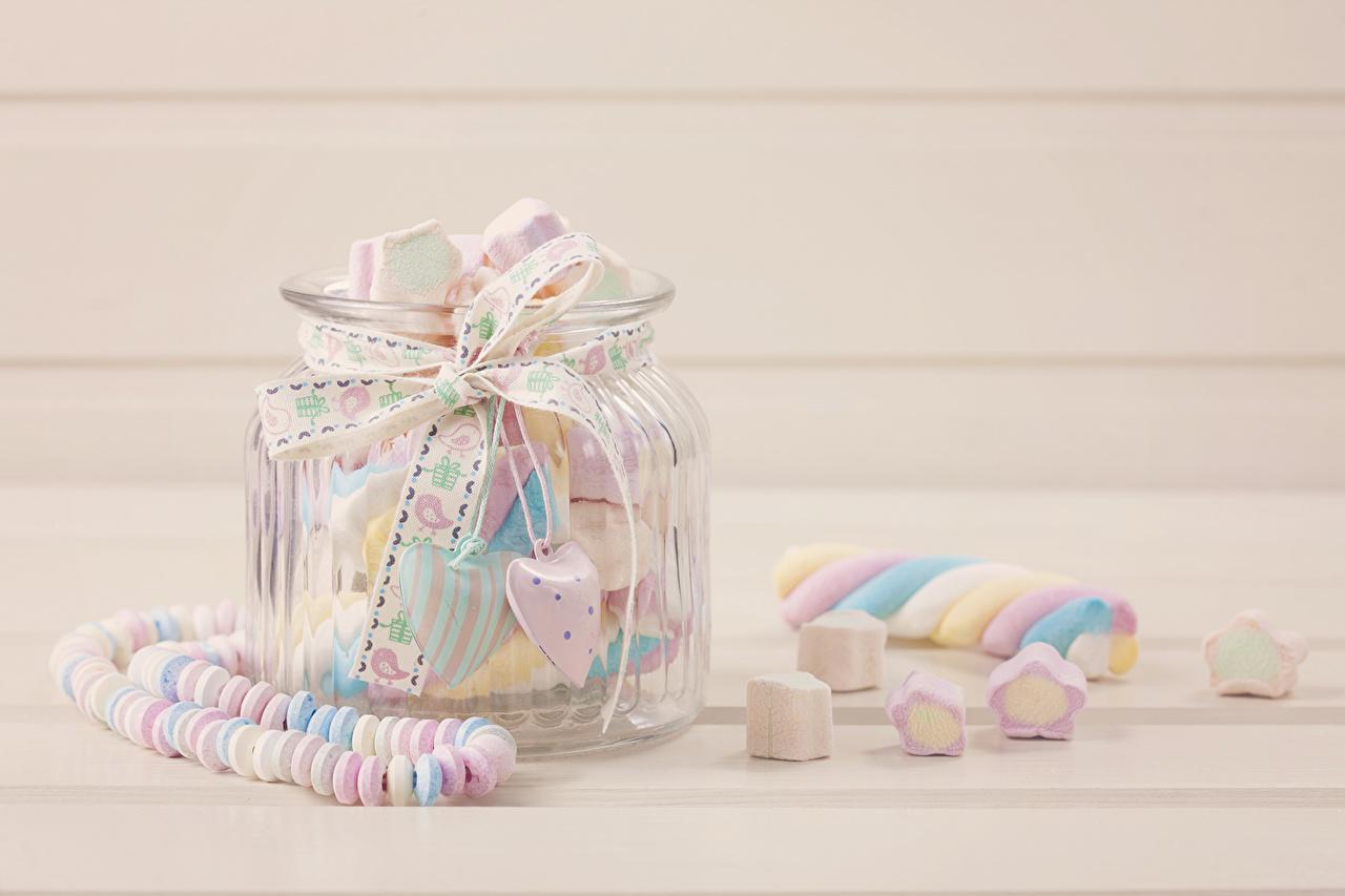 Фото sweets Конфеты банке Продукты питания вблизи сладкая еда банки Банка Еда Пища Сладости Крупным планом